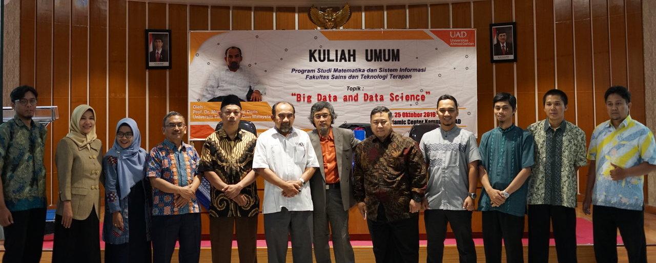 Kuliah Umum Big Data dan Data Science